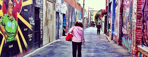 Clarion Alley is one of San Francisco.