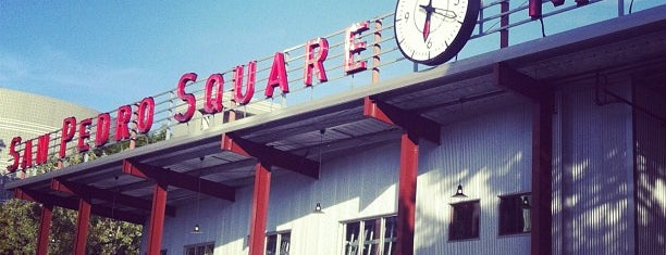 San Pedro Square Market is one of Favorites.