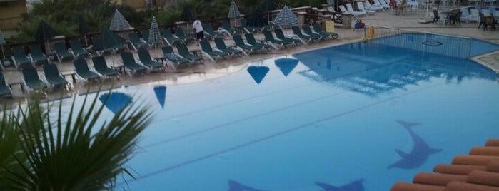 Perdikia Hill Family Resort is one of Orte, die Merve gefallen.