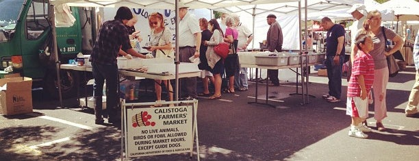 Calistoga Farmers Market is one of Lieux qui ont plu à Ben.