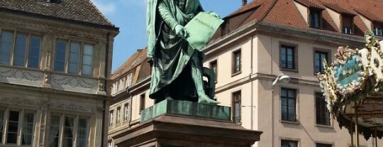 Place Gutenberg is one of Strasbourg.