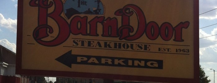 The Legendary Barn Door Steakhouse is one of Kevin's Liked Places.