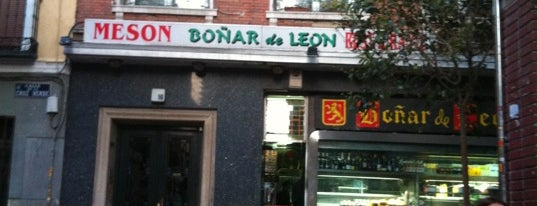 Boñar De Leon is one of Sitios de tapas en Madrid.