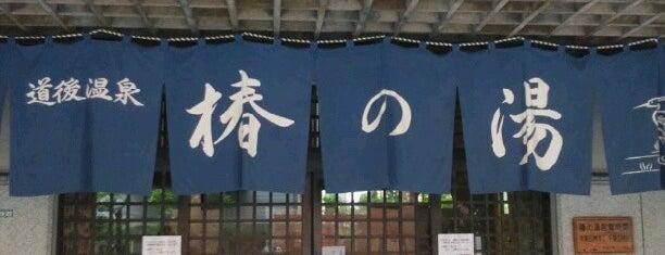 道後温泉 椿の湯 is one of プチ旅行に使える!四国の温泉・銭湯 ~車中泊・ライダー~.
