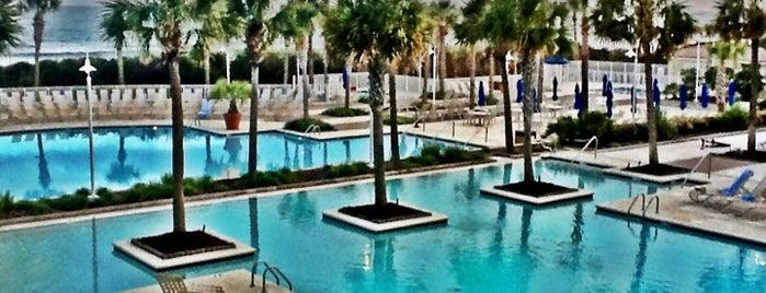 Myrtle Beach Marriott Resort & Spa at Grande Dunes is one of Tempat yang Disimpan Harry.
