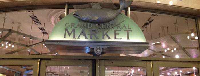 Grand Central Market is one of New York.