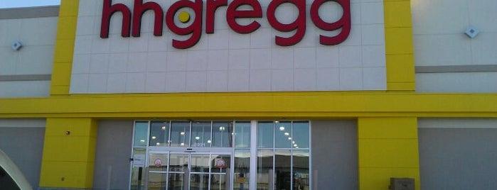 hhgregg is one of สถานที่ที่ Mike ถูกใจ.