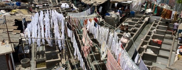 Dhobi Ghat is one of Mumbai.