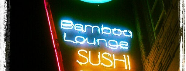Bamboo Lounge is one of Locais salvos de Erin.