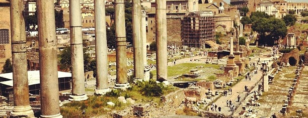 Foro Romano is one of wonders of the world.