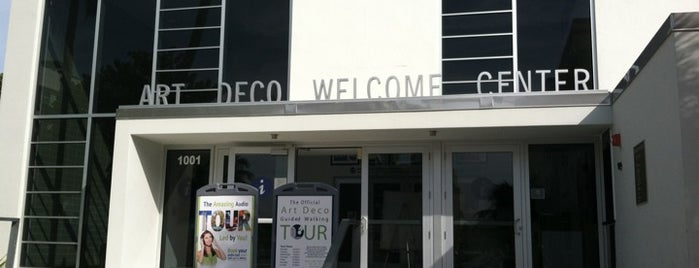Art Deco Welcome Center is one of Miami: history, culture, and outdoors.