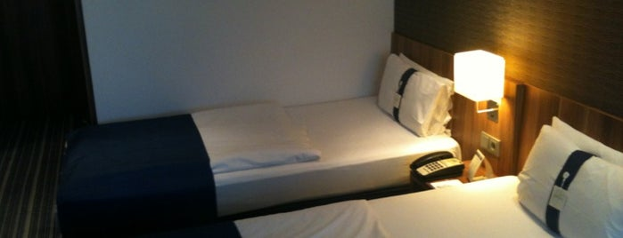 Holiday Inn Express is one of MyHotels.