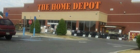 The Home Depot is one of Hayley's Liked Places.
