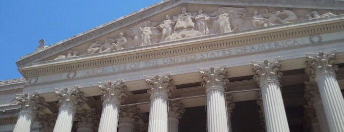 National Archives and Records Administration is one of Guide to Washington's best spots.