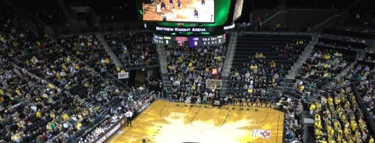 Matthew Knight Arena is one of Sporting Venues To Visit.....
