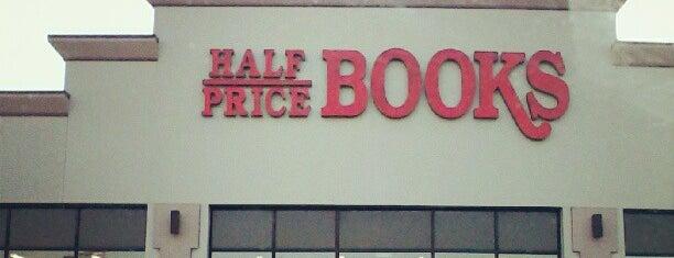 Half Price Books is one of Kristen : понравившиеся места.