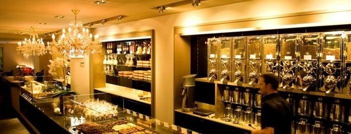 Günther Watté chocoladeCafé is one of Antwerp+Belgium.