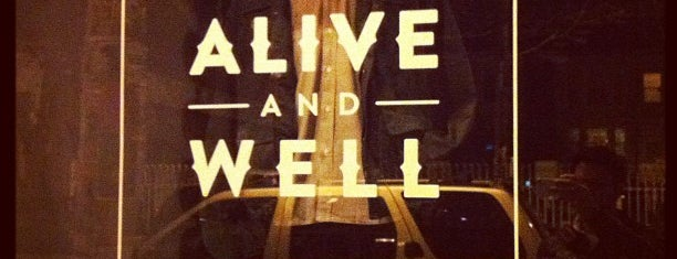 Alive And Well is one of Locais curtidos por Irvianne.