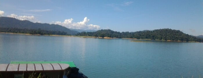 Tasik Kenyir is one of Attraction Places to Visit.