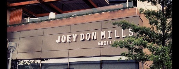 JOEY Don mills is one of Toronto Spots.