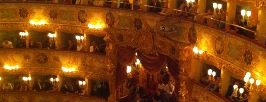 Teatro La Fenice is one of My Venice.