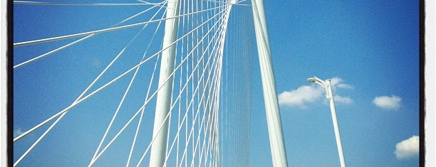 Margaret Hunt Hill Bridge is one of Dallas FW Metroplex.