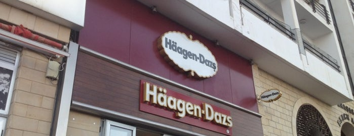 Häagen-Dazs is one of Orte, die Anna gefallen.
