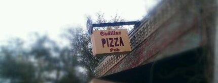 Cadillac Pizza Pub is one of Tim's Liked Places.