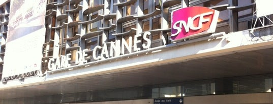 Gare SNCF de Cannes is one of Cannes.