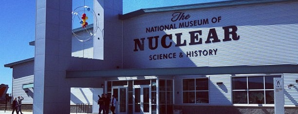 The National Museum Of Nuclear Science And History is one of StorefrontSticker City Guides: Albuquerque.