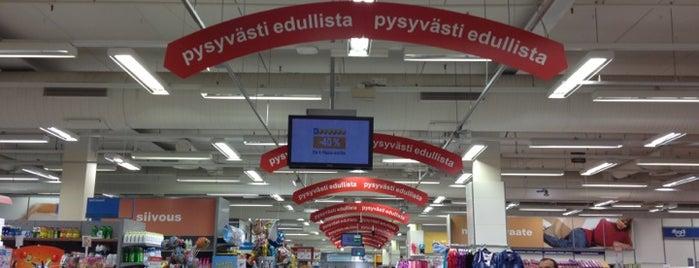 K-citymarket is one of Tempat yang Disukai Elina.