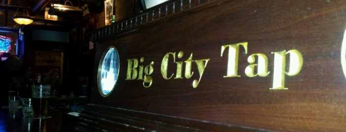 Big City Tap is one of Bars.