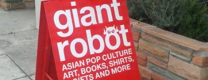 Giant Robot Store is one of SoCal Musts.