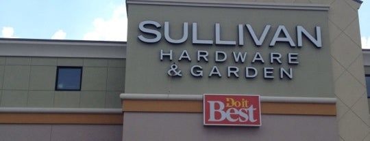 Sullivan Hardware & Garden is one of Lugares favoritos de David.