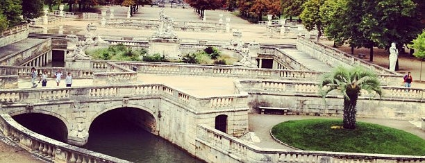 Jardin de la Fontaine is one of Nimes, France.