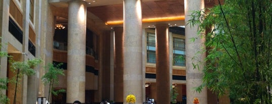 The Fullerton Hotel is one of International: Hotels.