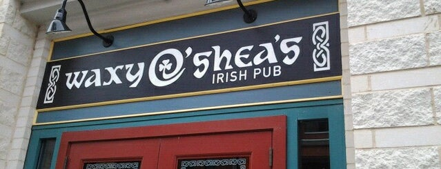 Waxy O'Shea's Irish Pub is one of Locais salvos de Lizzie.