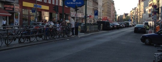 Karl-Marx-Straße is one of Locais curtidos por Iara.