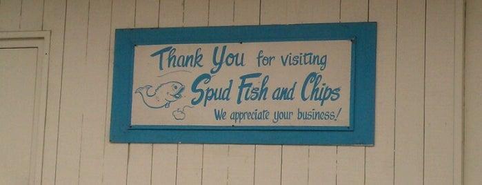Spud Fish & Chips is one of Katrina : понравившиеся места.