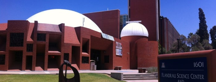 Flandrau Science Center and Planetarium is one of Gespeicherte Orte von Claire.