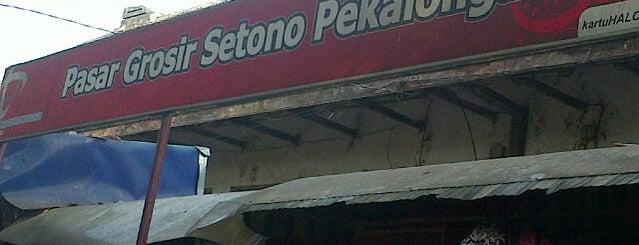 Pasar Grosir Batik Setono is one of Java / Indonesien.