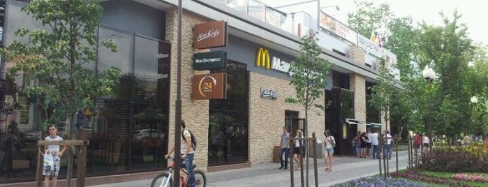 McDonald's is one of Tempat yang Disukai Георгий.