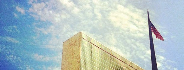 United Nations is one of Oscar Niemeyer [1907-2012].