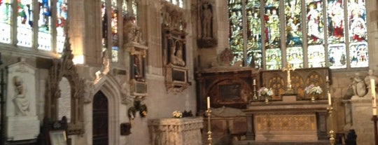 Holy Trinity Church is one of Dead Famous People ☠.