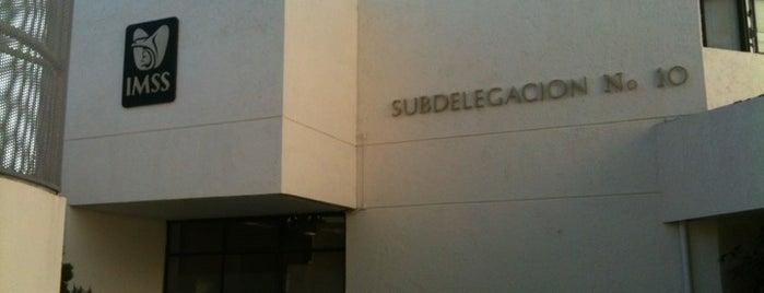 Subdelegacion No 10 IMSS is one of Lugares favoritos de Kikita.