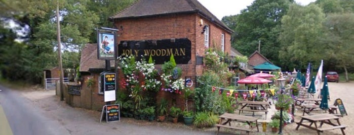 The Jolly Woodman is one of Lieux qui ont plu à Carl.