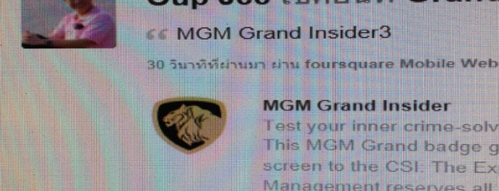 MGM Grand Buffet is one of #Vegas Badges.