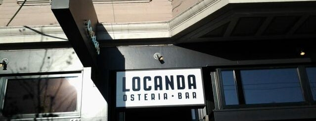 Locanda is one of San Francisco To Do List.