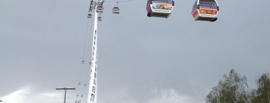 Emirates Air Line Greenwich Peninsula Terminal is one of London, UK (attractions).