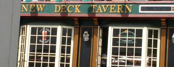 New Deck Tavern is one of Food Around Penn's Campus.